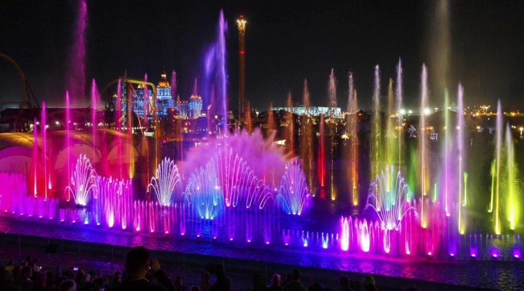 Поющие фонтаны Краснодар