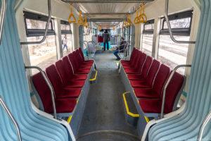 Трамвай Витязь Краснодар, салон