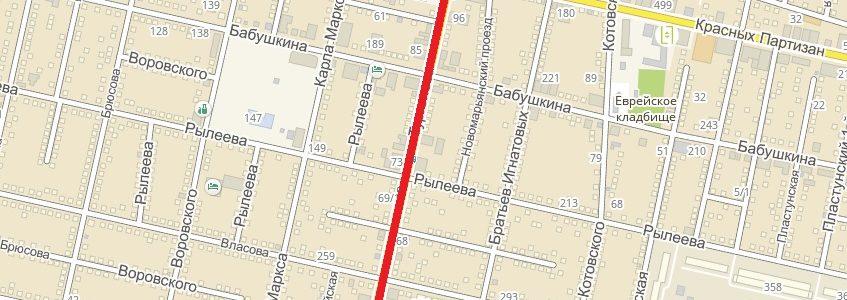 Закрытие улицы Тургенева в Краснодаре