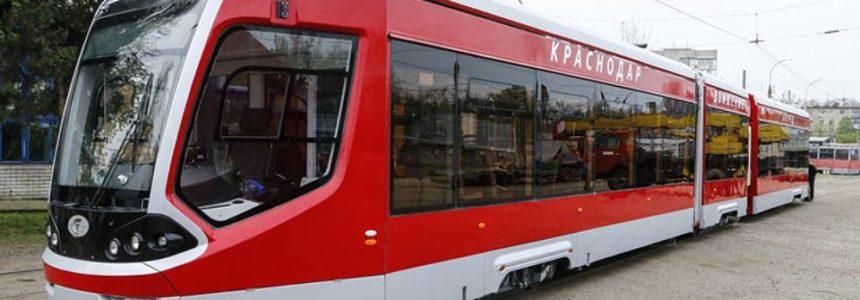 Трамвай Витязь в Краснодаре