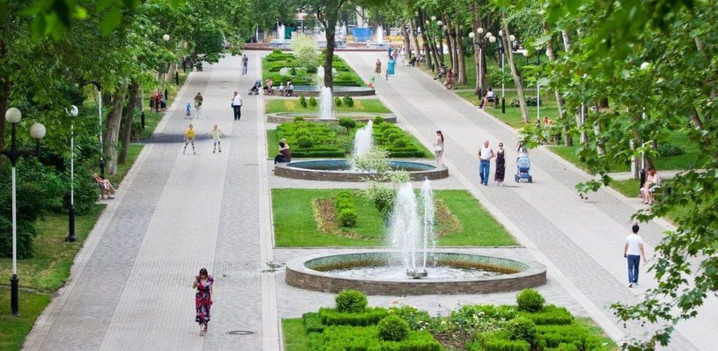 Краснодар - зеленый и красивый город - Как и где лучше жить в Краснодаре