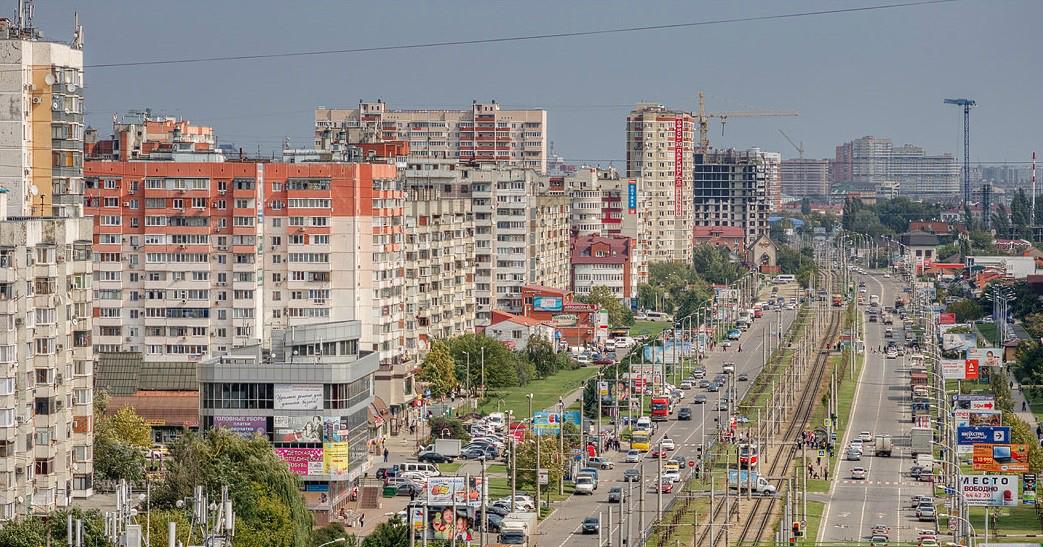 Западный округ Краснодара, Юбилейный микрорайон ЮМР