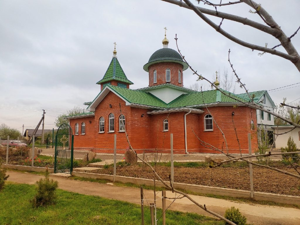 Церковь в станице Григорьевская