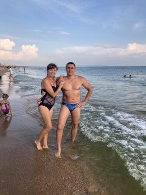 Станица Благовещенская (черное море) июль 2020