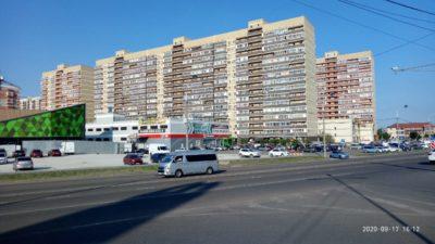 Район улицы Петра Метальникова в Краснодаре
